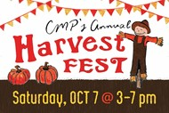 harvest festival logo with face